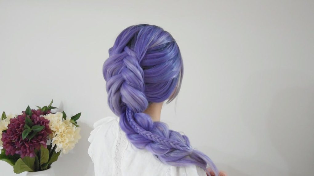 Combo Fishtail & French Braid 8